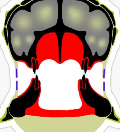 Tiki Masks - Ankylosaur Sticker
