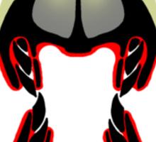Tiki Masks - Hadrosaur Sticker