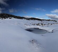 Cresta Valley Panorama by Natalie Ord