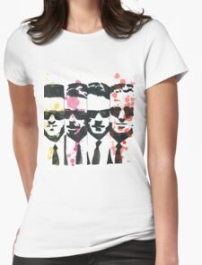 The dogs Womens Fitted T-Shirt