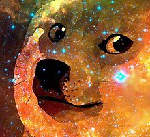 Doge In Space by Eliotmad