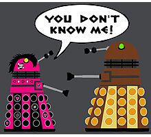 Teenage Dalek Photographic Print