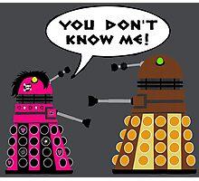 Teenage Dalek Photographic Print