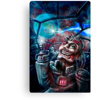 Space Madness Canvas Print