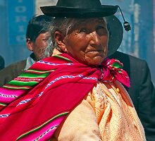 Puno Woman Dancing. by bulljup