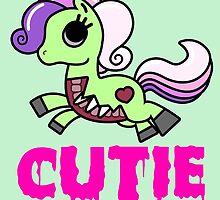 Cutie Horse (Zombie) by BerryRose