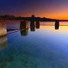 Coogee Pool Sunrise by Arfan Habib