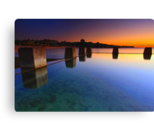 Coogee Pool Sunrise Canvas Print