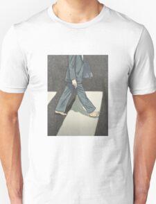 The Beatles Paul McCartney Illustration Abbey Road Zebra Crossing Unisex T-Shirt