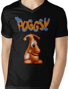Puggsy 16 BIT Mens V-Neck T-Shirt