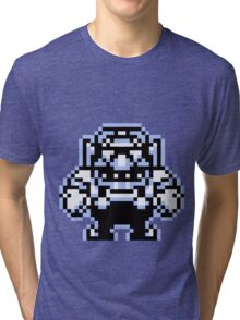 Wario 8bit Tri-blend T-Shirt