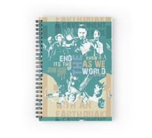 It's The End Of The World As We Know It Spiral Notebook