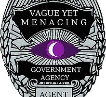 Vague Yet Menacing Agent by shaneisadragon