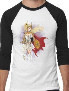 Princess of Power  Men's Baseball ¾ T-Shirt