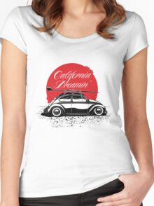 California Dreamin' Women's Fitted Scoop T-Shirt