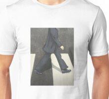 The Beatles Ringo Starr Illustration Abbey Road Zebra Crossing Unisex T-Shirt