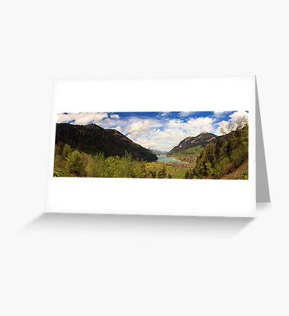 Lungern Greeting Card