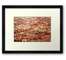Turkey Twisters Framed Print