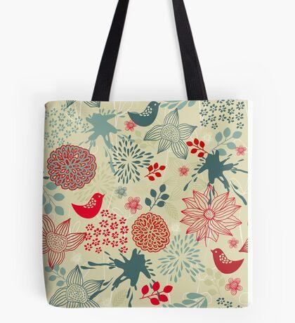 Cute Doodle Pattern Tote Bag