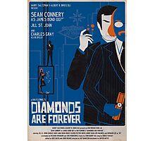 DIAMONDS ARE FOREVER Photographic Print