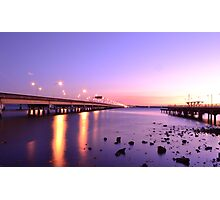 Bridge Over Troubled water Photographic Print
