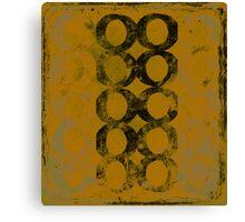 8,1/2  serie, variant 19 Canvas Print