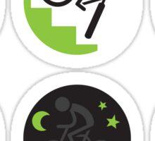Dangers on the road 7-12 Sticker