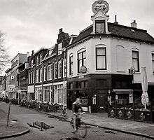 Pub Parking, Utrecht, Netherlands by Norman Repacholi