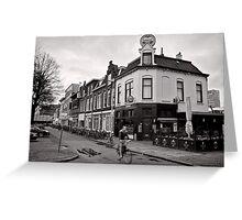 Pub Parking, Utrecht, Netherlands Greeting Card