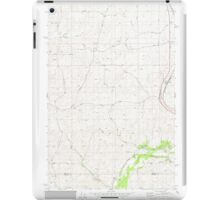 USGS Topo Map Washington State WA Plaza 362961 1980 24000 iPad Case/Skin