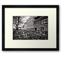 Bicycle Expo Utrecht, The Netherlands Framed Print