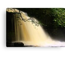 Cauldron Falls, Walden Beck, North England Canvas Print