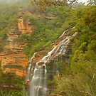 Wenty Falls ... from the top by Michael Matthews