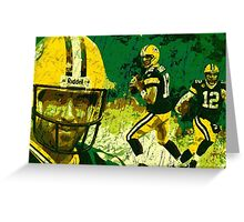 Aaron Rodgers Collage 2015 Greeting Card