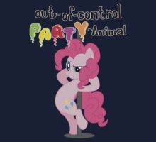 Out-of-control Party-Animal - with text by Stinkehund