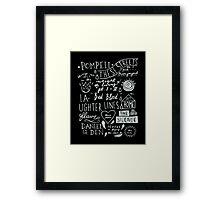 DARK STORMER Framed Print