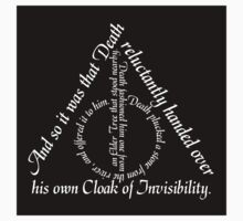 The Deathly Hallows Text Sticker by AngryMongo