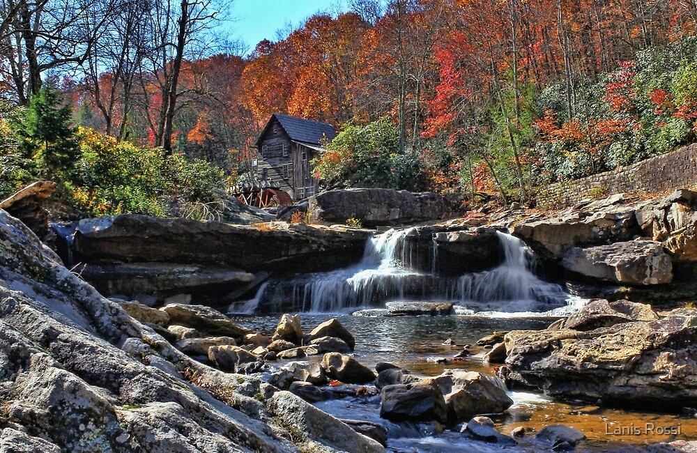 Postcard From West Virginia  by Lanis Rossi