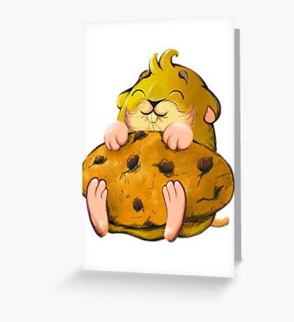 Clever hamster Greeting Card