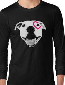 Heart over eye Pittie Long Sleeve T-Shirt