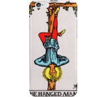 Tarot Card - The Hanged Man iPhone Case/Skin
