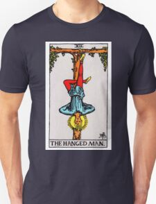 Tarot Card - The Hanged Man Unisex T-Shirt
