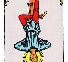 Tarot Card - The Hanged Man by TexasBarFight