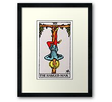 Tarot Card - The Hanged Man Framed Print