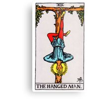 Tarot Card - The Hanged Man Metal Print