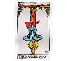 Tarot Card - The Hanged Man Poster