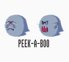 Mario - Peek-A-Boo by Champanaut