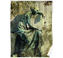 Remorse in Bronze Poster