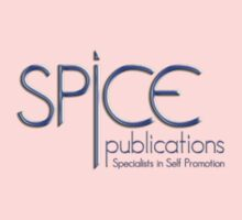 Spice Publications Blue Logo Baby Tee