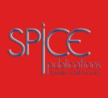 Spice Publications Blue Logo One Piece - Short Sleeve